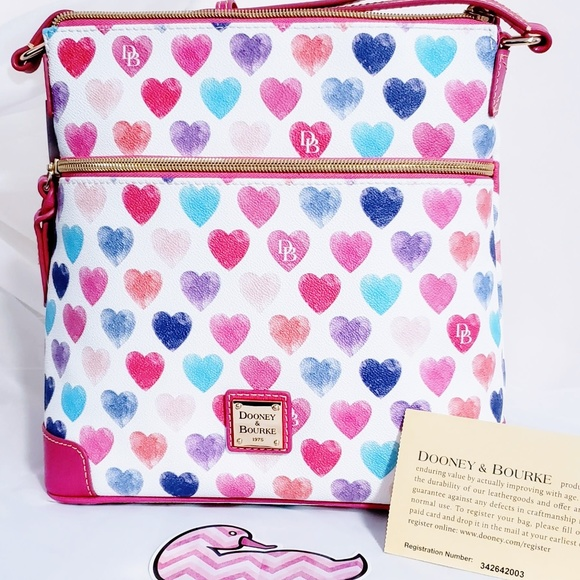 Dooney & Bourke Handbags - Dooney & Bourke Sweetie Crossbody New💞🦄